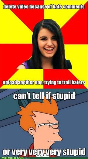 Rebecca Black Cannot Be Trolling