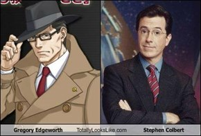 Gregory Edgeworth Totally Looks Like Stephen Colbert