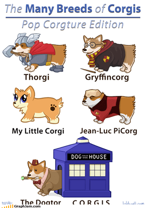 Pretty Sure Corgis Would Be Hufflepuffs