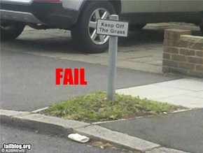Keep off the FAIL