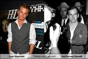 Cam Gigandet Totally Looks Like Lee Harvey Oswald