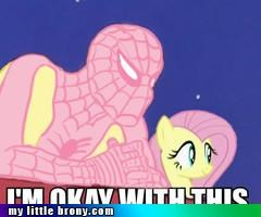 Even Spidey is a Brony