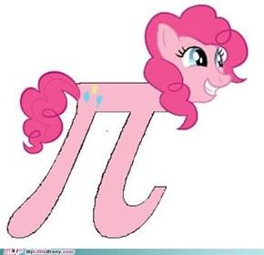 Pinkie 3.14159265358979323846264...