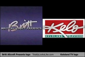 Britt Allcroft Presents logo Totally Looks Like Keloland TV logo