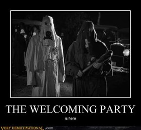 THE WELCOMING PARTY