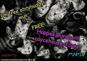 Happee Burfdae!!