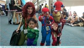 Family Portrait, Comic-Con Style