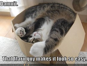Damnit.    That Maru guy makes it look so easy.
