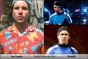 Jon Lajoie Totally Looks Like Stryker
