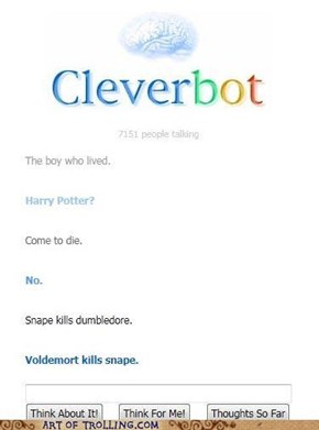 Well played cleverbot, well played