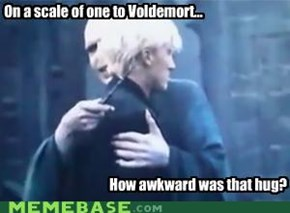 On a scale of one to Voldemort...