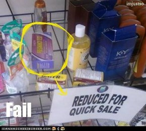 Pregnancy Test Fail