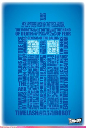 TARDIS Word Cloud