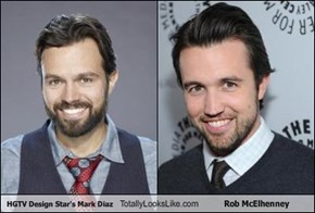 HGTV Design Star's Mark Diaz Totally Looks Like Rob McElhenney