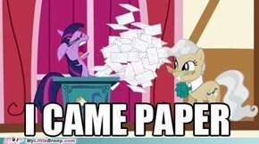 Paper Cuts?