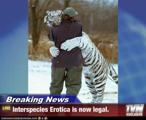 Breaking News - Interspecies...