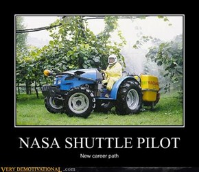 NASA SHUTTLE PILOT