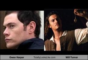 Owen Harper Totally Looks Like Will Turner