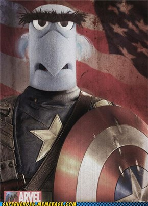 Sam the Captain American Eagle