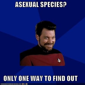 Raunchy Riker: Where No Man Has Gone Before
