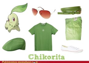 Hey Bro, You Wanna Look Like Chikorita?