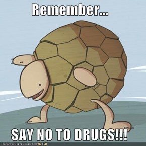 Remember...  SAY NO TO DRUGS!!!