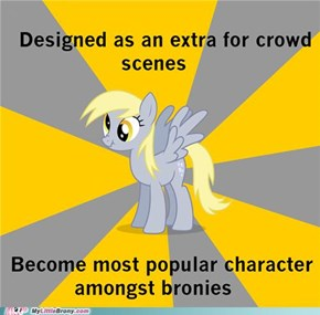 Derpy Hooves Wins Everywhere