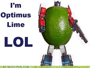You Put the Lime in the Autobot...