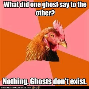 Talking ghosts?