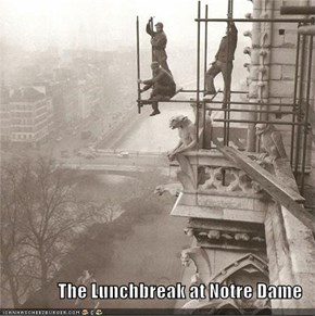 The Lunchbreak at Notre Dame