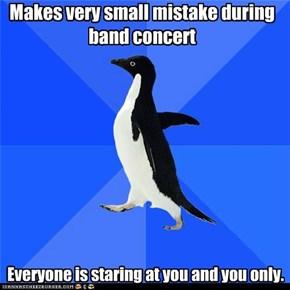 Awkward band concert...