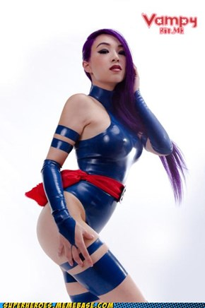 That is the Pspytting Image of Psylocke