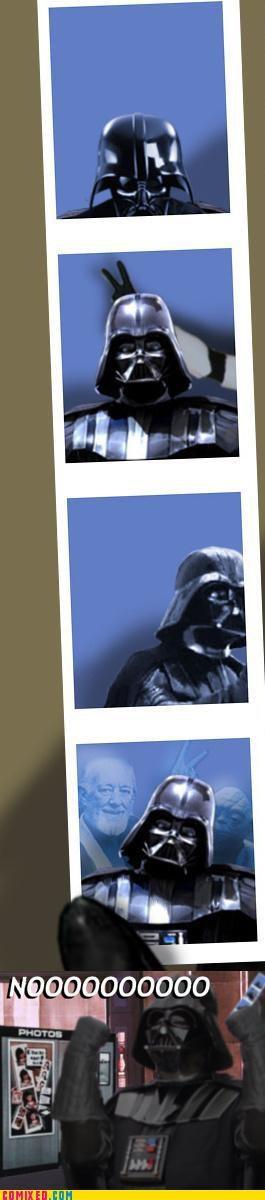 Vader Gets Bombed