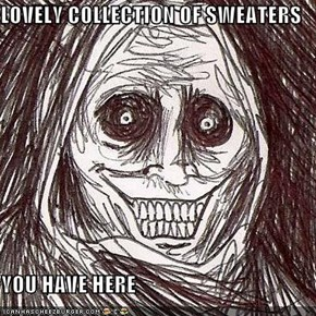 LOVELY COLLECTION OF SWEATERS   YOU HAVE HERE