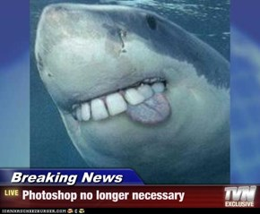 Breaking News - Photoshop no longer necessary