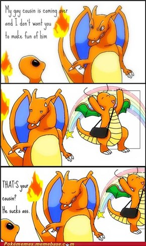 Don't Hate. Dragonite Is Fabulous