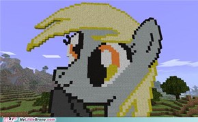 Derpy in Minecraft