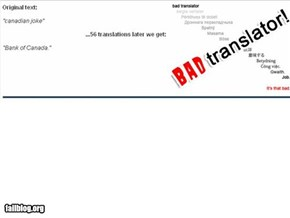 Bad Translator Fail