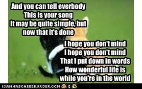 Your song-Elton John