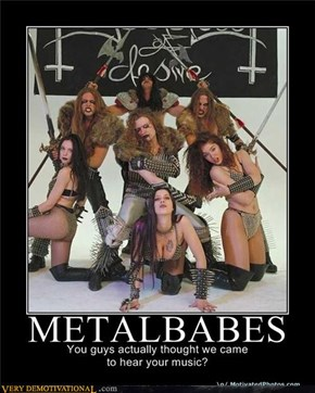Classic: Metal Babes