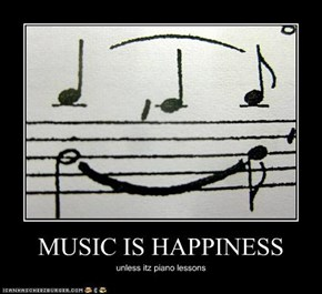 MUSIC IS HAPPINESS