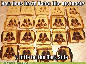 Use the Force, Toaster!