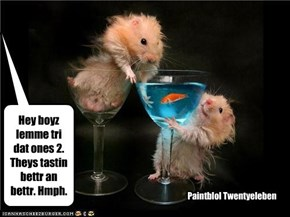 "Hmph's mixologists attempt to find the ""perfect martini"" before the pool party starts..."