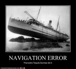 NAVIGATION ERROR
