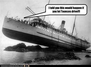 Titanc 2: Toonces Takes the Wheel