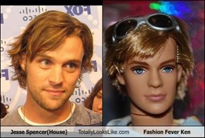 Jesse Spencer(House) Totally Looks Like Fashion Fever Ken