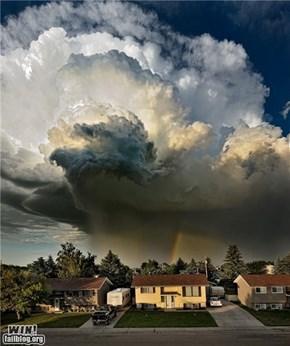 Thunder overhead!
