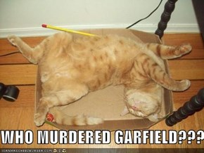 WHO MURDERED GARFIELD???