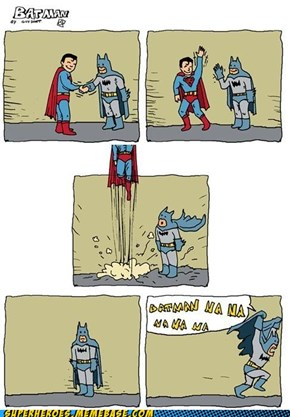 The Difference between Batman and Superman