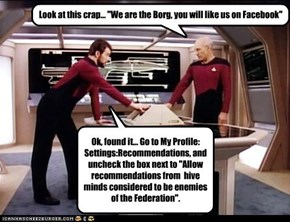 Social Networking: Still Annoying In The 24th Century